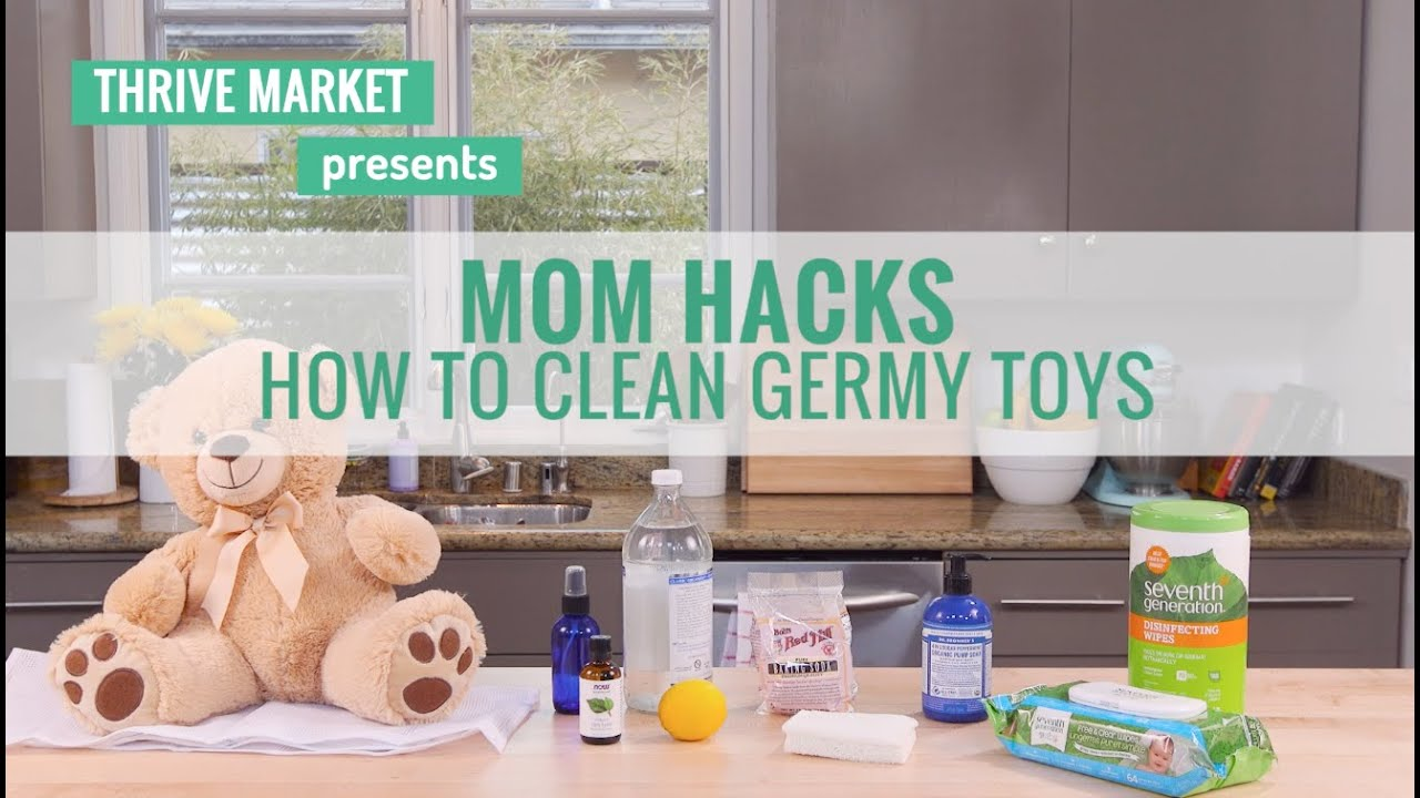 Mom Hacks: How to Clean Germy Toys with All-Natural Solutions