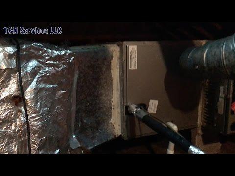 Goodman HVAC Slab Coil Install