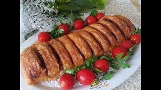 Bu Böreğin Lezzeti Dillere Destan/Patlıcanlı Çıtır Dilim Börek/Mutfağımdan Tadlar l Nefis Tarifler