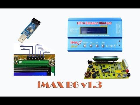 Как прошить IMAX B6!? Ремонтирую свой клон V1.3