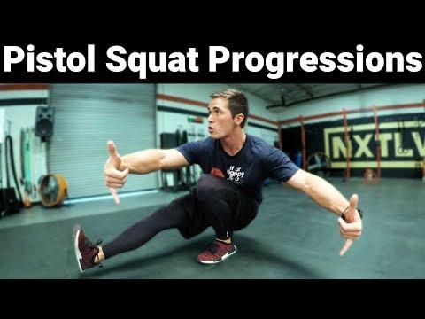 Pistol Squat Progressions Tutorial | Easy to Advanced | Variations Tutorial