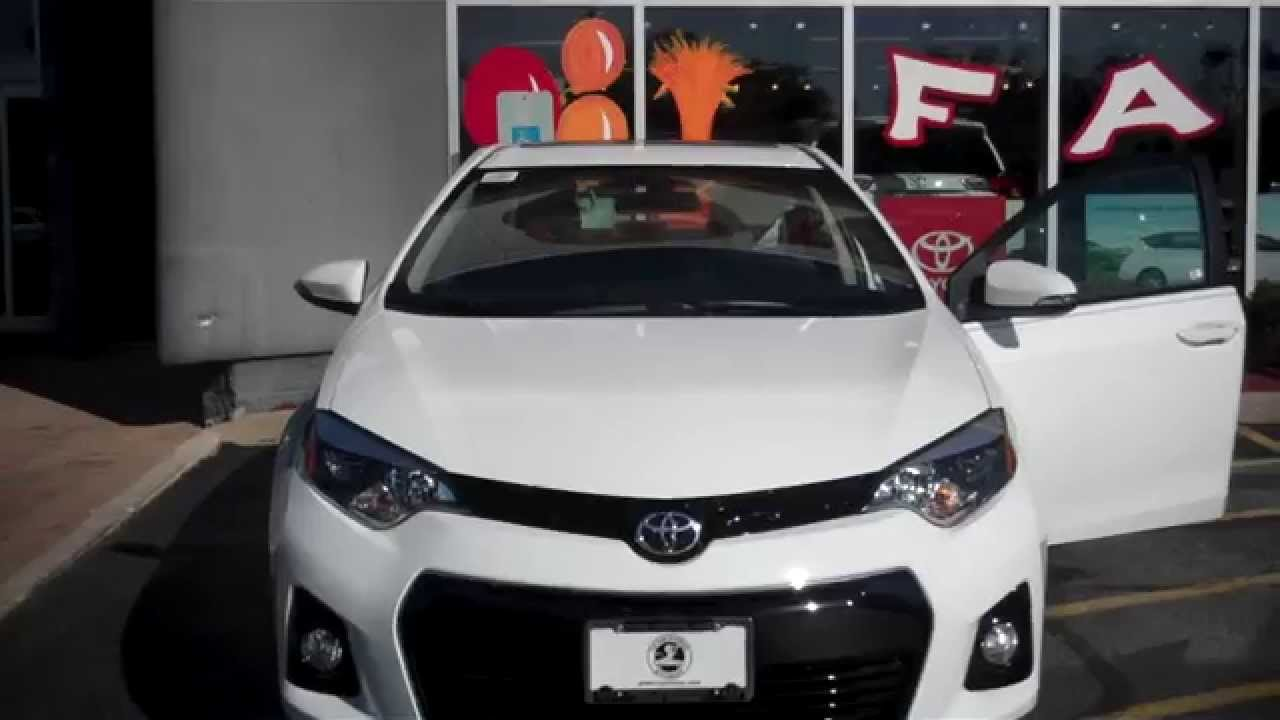 2015 Corolla S Plus >> 2015 Toyota Corolla S Plus for Eva - YouTube