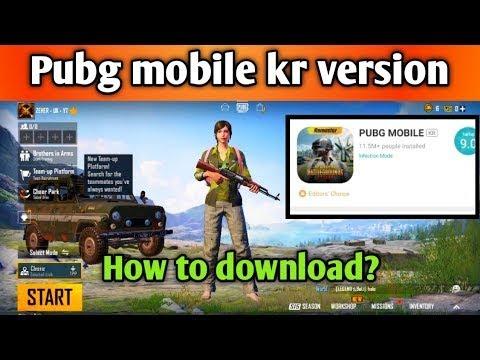 How to download pubg kr version|Pubg Mobile kr version download|