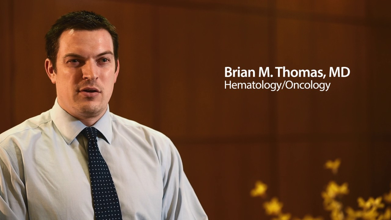Meet Dr  Brian Thomas, MD | Hematology, Oncology | Meet Dr  Right