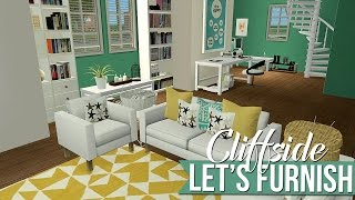 The Sims 2 | Let's Decorate - 6 Cliffside - Internet Lover Challenge House