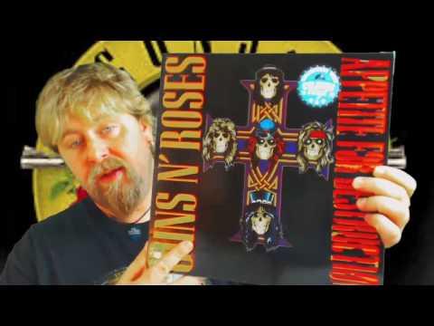 Los Mejores Vinilos de la Historia-Guns n Roses-Appetite For Destruction