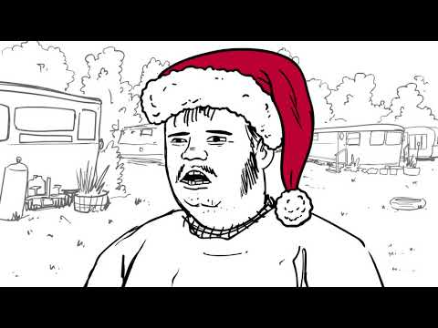 BUCK BILLY On  HOLIDAY PARKING Funny Christmas Redneck Humor