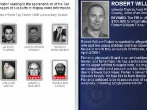 FBI Top-Ten Most Wanted: Robert Fisher