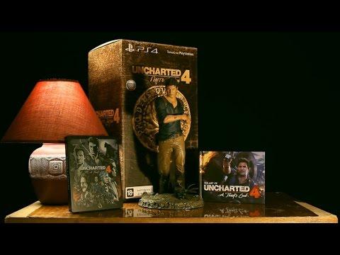 Распаковка Uncharted 4: Путь вора (A Thief's End) Коллекционное издание
