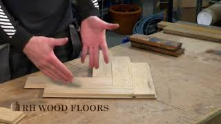 What is the difference between new and reclaimed parquet wood flooring