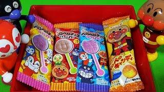 アンパンマンストップモーション ペロペロチョコ&キャンディ❤アニメ&おもちゃ Toy Kids トイキッズ animation anpanman thumbnail