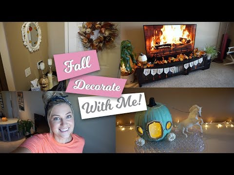 FALL DECOR 2019 | DECORATE WITH ME & CLEAN WITH ME FOR FALL!
