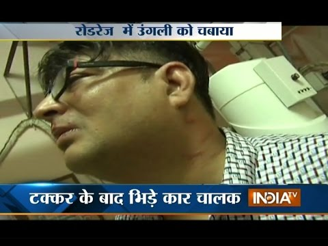 Fresh Incident of Road Rage in Delhi - India TV