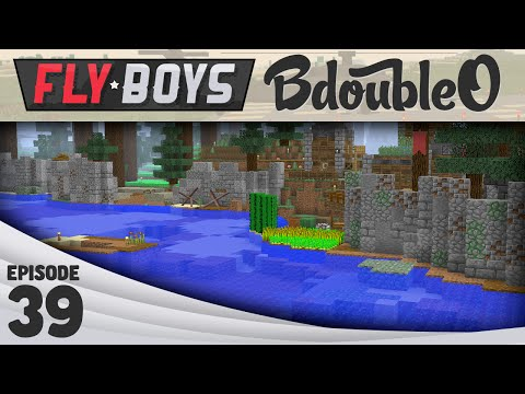 Minecraft Fly Boys :: Great Wall of Bdubs :: Episode 39