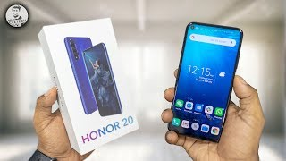 Honor 20 Unboxing & Hands On - QUAD Cameras & Punch Hole!