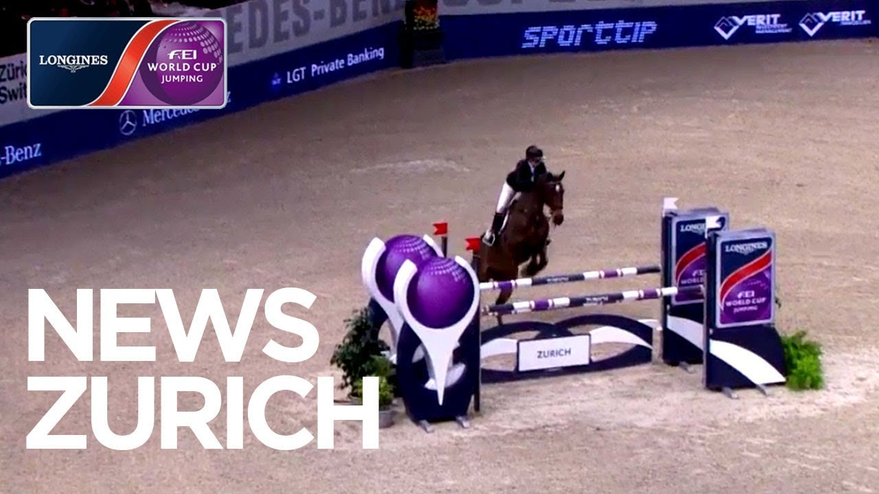 Stephanie's Holmén sets the pace in Zurich | News | Longines FEI World Cup™  Jumping