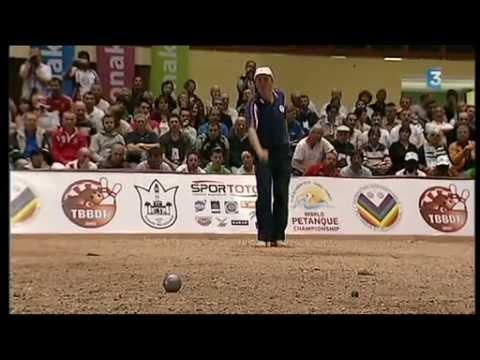 Finale compl te championnat du monde 2010 de p tanque for Championnat du monde de boules carrees