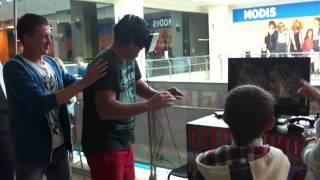 Ржач. Прикол. Прикольная реакция на Oculus Rift. Самара, Вива-Ленд. 2014