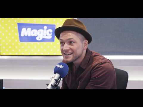 Kids try to pronounce Taron Egerton&39;s name  Magic Weekend Breakfast