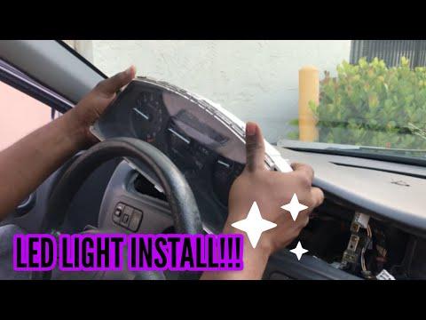 Honda Civic 1995 EG Cluster Light Install