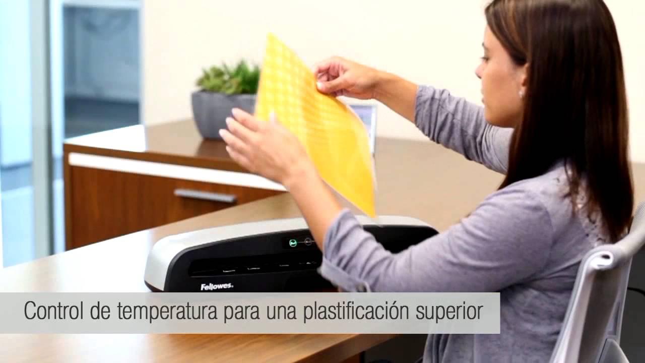 para uso frecuente Plastificadora de documentos Fellowes Saturn 3i A3 Pack de 100 fundas de plastificar formato A3 ImageLast 80-125 micras 125 micras lista para usar en 1 minuto