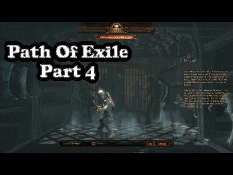 Path of Exile - Playthrough Part 4 - Big scary Brutus