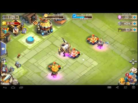 Castle Clash-Pumpkin Duke/Skull Knight Giveaway With Bruze Gaming(CLOSED)