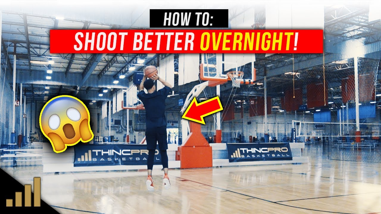 How to: Shoot a Basketball Better OVERNIGHT! [Basketball Shooting Drills]