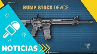 Prohíben los dispositivos Bump Stock para armas de fuego | Un Nuevo Día | Telemundo