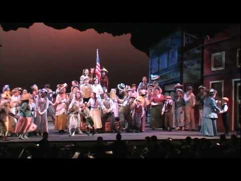 The Music Man- Wells Fargo Wagon