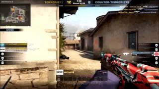 CS:GO 1v4 AK 47 Turn On