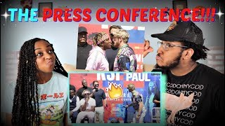 KSI VS Logan Paul Press Conference #2 REACTION!!!