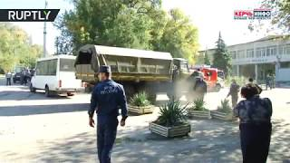 Crimea Attack: Device filled with shrapnel exploded in local college