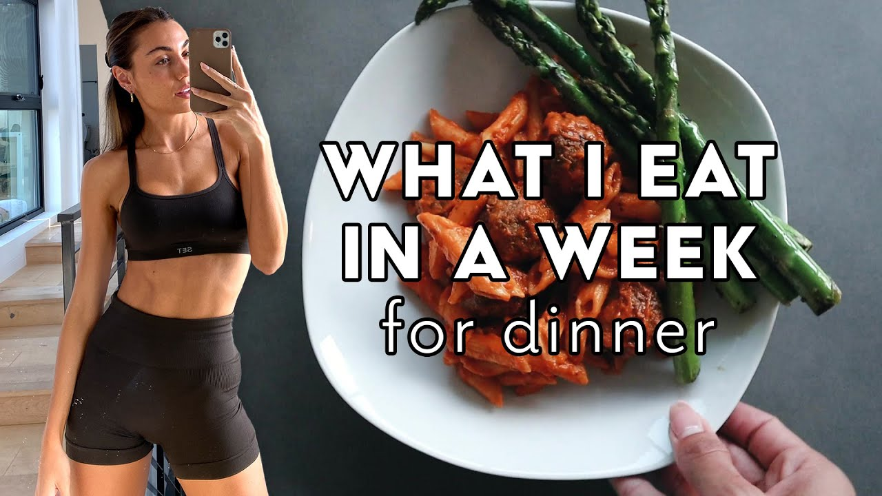 What I Eat In A Week FOR DINNER // The Go-to's and Trying New Things // Sami Clarke