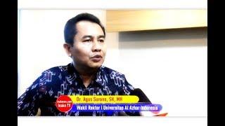 Dr. Agus Surono, SH, MH : Halangi Proses Hukum kena Pasal Obstruction of Justice