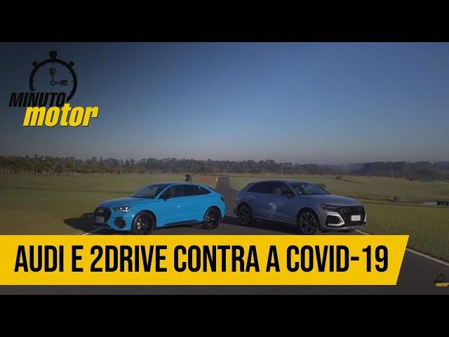Audi e 2Drive contra a Covid-19
