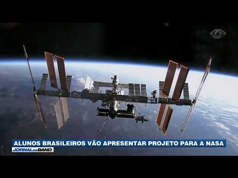 Alunos Brasileiros Vão Apresentar Projeto Para A Nasa