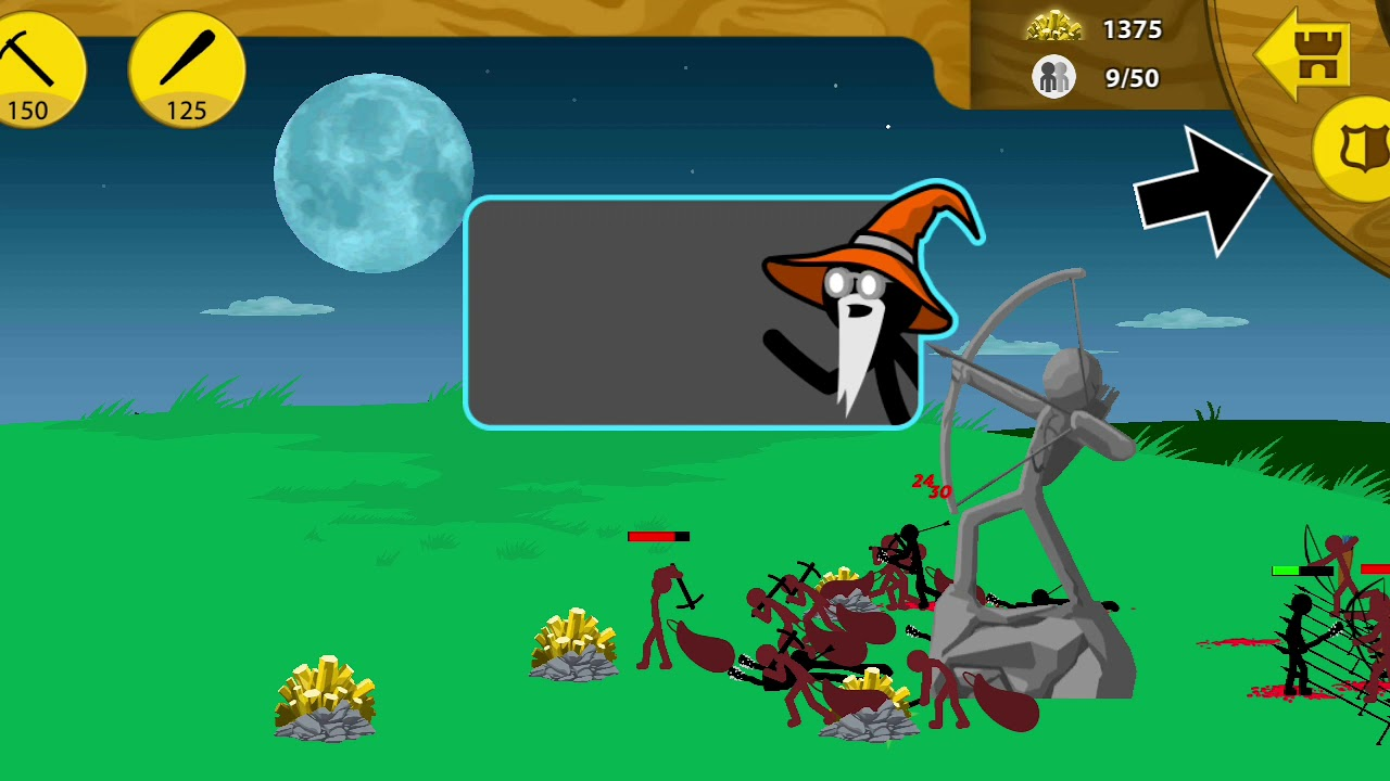 Играю в Stick War: Legacy