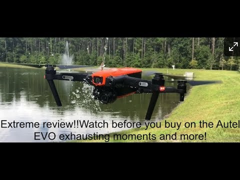 Autel Robotics EVO Waterproof or Water resistant test and obstacle avoidance still works!🤔