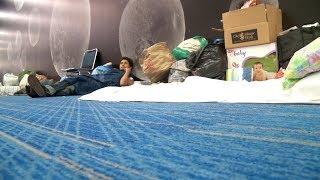 Hurricane Harvey leaves man homeless on his birthday
