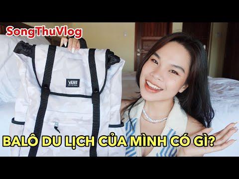SongThuVlog: 8 Món Giúp Giữ Thần Thái Đi Du Lịch Bụi