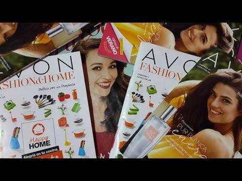 Unboxing Campaña 17 de Avon + Pasando Revista Campaña 01 de 2017