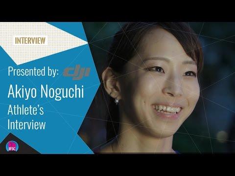 Athlete's Interview - Akiyo Noguchi