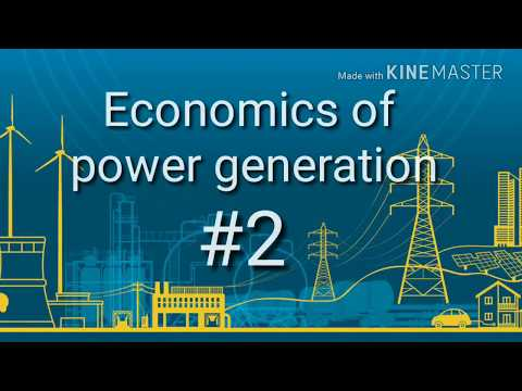 Economics of Power Generation 2 | MCQ
