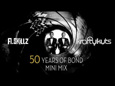 50 Years of James Bond Mini Mix Compilation - A.Skillz & Krafty Kuts