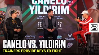 Canelo vs. Yildirim: Eddy Reynoso, Joel Diaz Provide Trainer's Keys