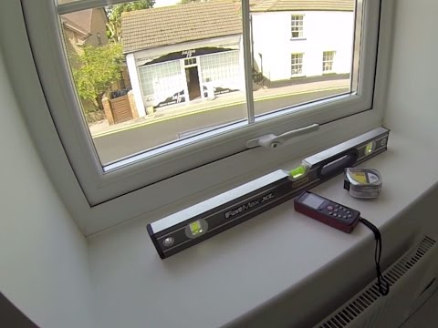 How to measure inside the recess for interior Vinyl window shutters
