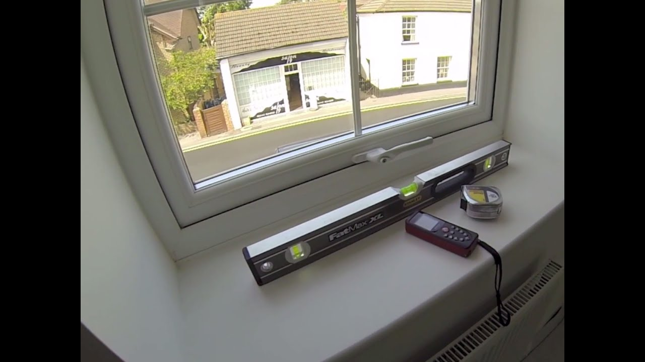How To Measure Inside The Recess For Interior Vinyl Window