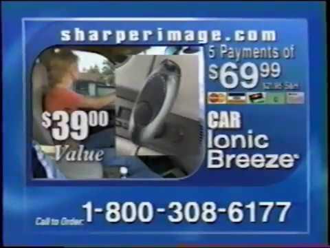 Ionic Breeze Quadra - Sharper Image -  2 minute - Commercial Spot EPA Indoor (2004)