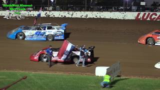 $30,000 to win Lucas Oil speedway Late Model MLRA Main Event Show Me 100 5/26/2018